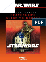 Star Wars D6 - Conversion - Scavengers Guide to Droids