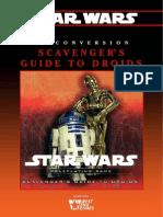 Star Wars D6 - Conversion - Scavengers Guide to Droids