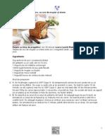 Friptură crocantă de porc, cu sos de muştar şi miere