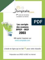 Sujet Corrige Decf Uv2 2003