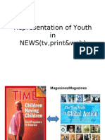 Representation of Youth in News Media - Alana