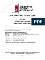 Miami University 2014 Student Body President and VP Petition