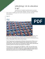 The Pisa Methodology