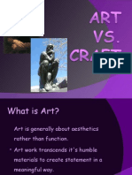 Art vs Craft