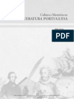 Cultura e Memoria Na Literatura Portuguesa Online