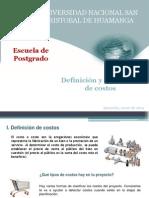 Definición y estructura de costos