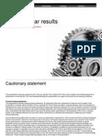 RIO Annual results 2013 - presentation slides