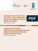 Hydro Geothermal Plants Brief Guide