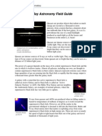 X-Ray Astronomy Field Guide