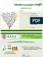 Comunicacion Corporativa e Imagen Institucional