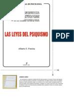 Alberto E. Fresina - Las Leyes Del Psiquismo (Parte 1)