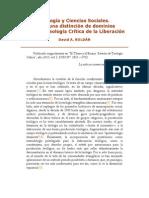 Teología y Ciencias Sociales