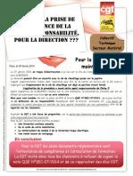 CTS Matériel note QSE