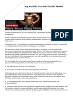 10 Rules For Injecting Anabolic Steroids To Gain Muscle