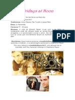 Fridays at Noon by troublefollows1017 [português] - completa!