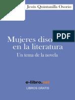 Quintanilla Osorio, Jesús - Mujeres disolutas en la literatura