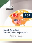 EyeforTravel - Airline Online Distribution Focus North America 2009-4