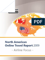 EyeforTravel - Airline Online Distribution Focus North America 2009-4
