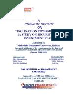 Report on Icici Pru by Sandeep Arora