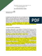 EL ROL DEL PROFESOR EN LA EDUCACIÓN RURAL CHILENA.