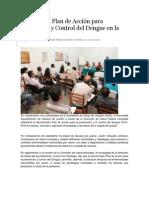 05/02/14 nss En marcha, Plan de Acción para Prevención y Control del Dengue en la capital