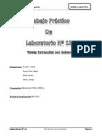 TPL13 Extracción con solventes
