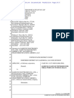 Samsung Witness List