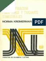 Metodos de investigación para tesis y trabajos semestrales