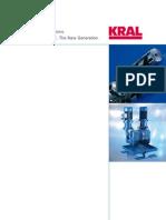 Screw Pumps KRAL Double Station DKC DMC 01