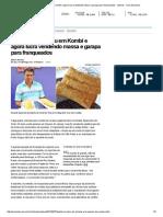 Pastelaria começou em Kombi e agora lucra vendendo massa e garapa para franqueados - noticias - UOL Economia
