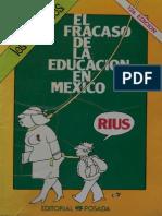 Rius - El Fracaso de la Educación en México.pdf
