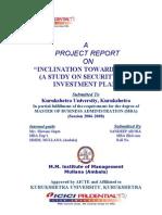 Report on Ulip by Sandeep Arora