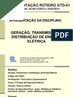 APRESENTAÇÃO ROTEIRO GTD 01 - Apresentação da Disciplina.ppt