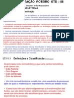 APRESENTAÇÃO  ROTEIRO  GTD - 08 - Centrais Termelétricas.ppt