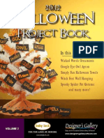 Halloween Projects 2012