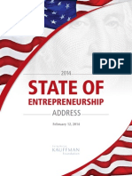 2014 State of Entrepreneurship Address