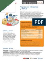 Ficha 09 Reparto de Refrigerios y Menus