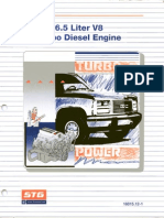 GM STG 16015-12-1 The 6.5L V8 Turbo Diesel Engine