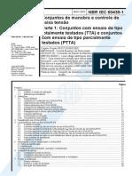 NBR-IEC-60439-1-2003