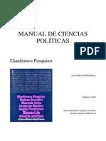 Pasquino-manual de Ciencia Politica