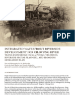 INTEGRATED WATERFRONT RIVERSIDE DEVELOPMENT FOR CILIWUNG RIVER