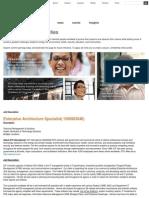 Enterprise Architecture Specialist