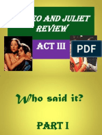 Romeo and Juliet Act III Review(2)