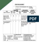 Student Risk Assessment1 h201