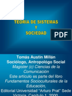 011 Teoria de Sistemas y Sociedad