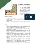 Guía de lectura La Celestina