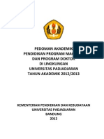 Pedoman Akademik s2 s3 2012