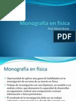 Monografia en Fisica