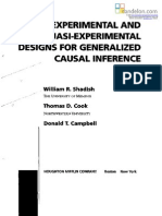 Metode Penelitian Eksperimen dan Pre-Eksperimen