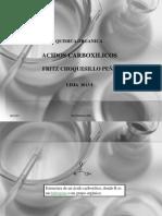 Acidos Carboxilicos 2013-I